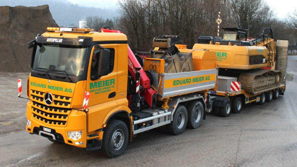Transport Lastwagen